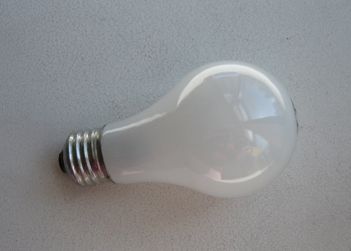 Incandescent light bulbs out, saving energy in