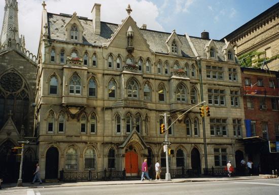 A private school in Manhattan