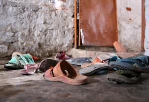 The Shahbad Dairy Slum: Shoes