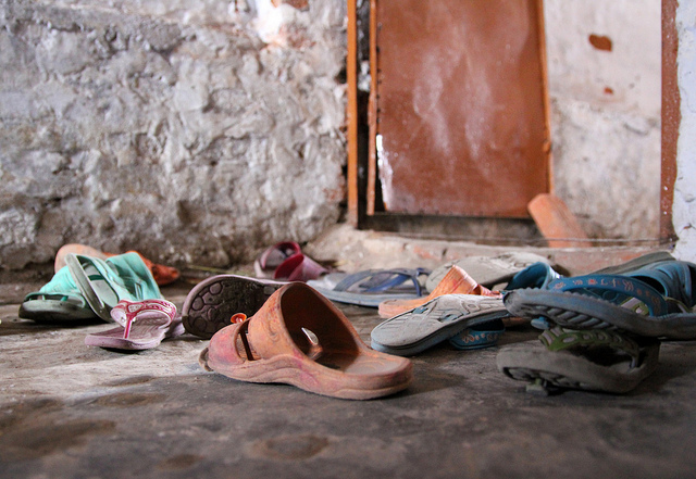 The Shahbad Dairy Slum: Shoes