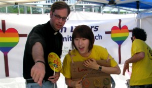 Rev. Daniel Payne and the Open Doors Community Church at the 2012 Korea Queer Culture Festival in Seoul