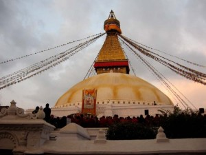 Photo of Boudhanath in Kathmandu, Nepal