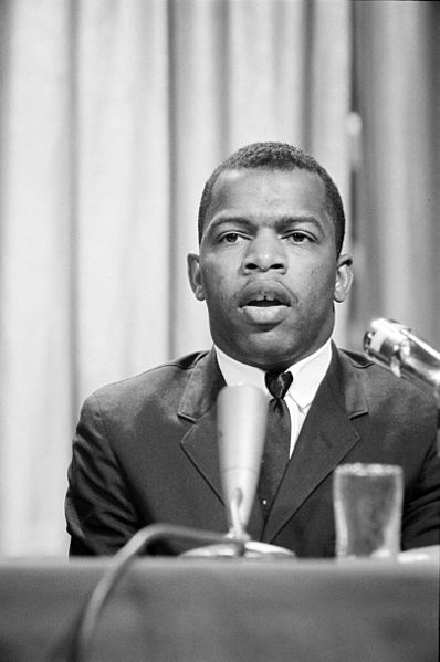 John Lewis speaking in panel discussion