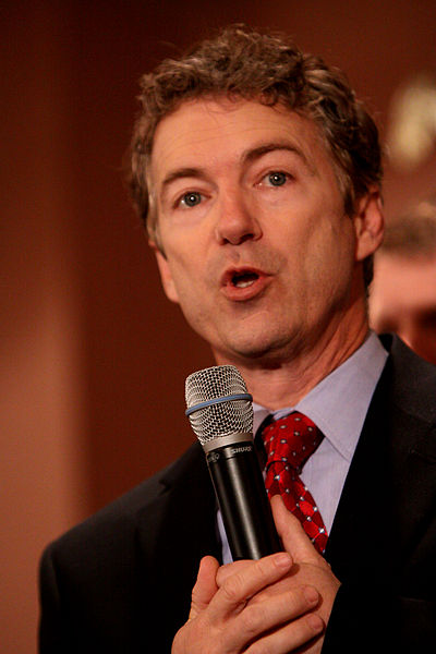 Rand Paul speaks at at New Hampshire town hall