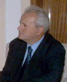 Serb leader Slobodan Milošević