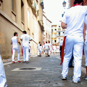 I Ran with the Bulls in Pamplona