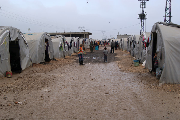 Refugee camp in Suruç