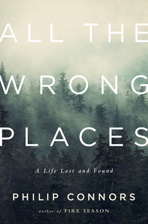 """All the Wrong Places"" book cover"